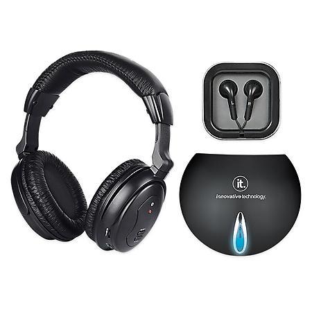 689c7ee19d6 Innovative Technology Wireless TV Listening Headphones - Sam's Club