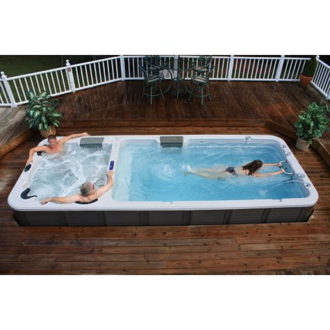 Ultimate Dual-Temperature Stereo Swim Spa
