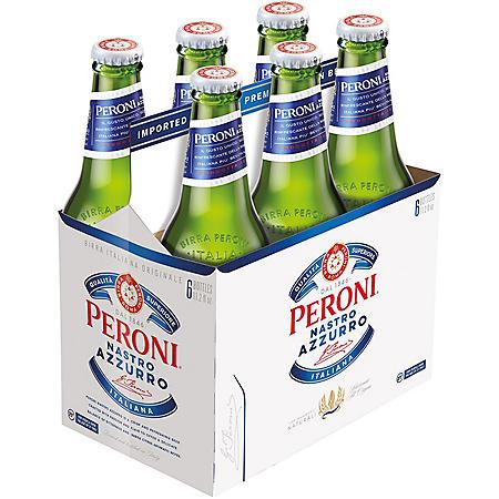 Peroni Nastro Azzurro Beer (11.2 fl. oz. bottle, 6 pk.)
