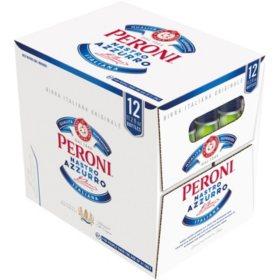 Peroni Nastro Azzurro Beer (11.2 fl. oz. bottle, 12 pk.)