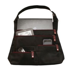 WIB - Women In Business LA City Slim Bag - Black