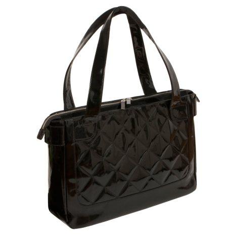 Marco Avane Leather Shopper Bag - Orchid