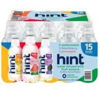 Hint Water Variety Pack (16 fl. oz., 15 pk.)