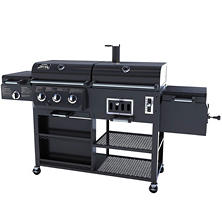 Smoke Hollow 4-in-1 Combo Gas & Charcoal Grill