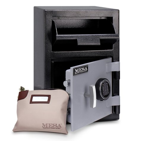 Mesa Safe All Steel Depository Safe, 0.8 Cubic Feet