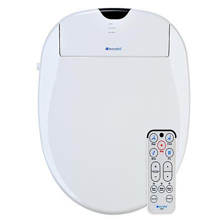 Brondell Advanced Bidet Toilet Seat with Bonus Filter (Elongated or Round)