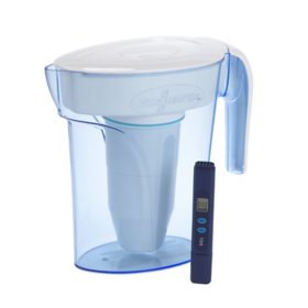 ZeroWater Pitcher with Free Water Quality Meter (Assorted Sizes)