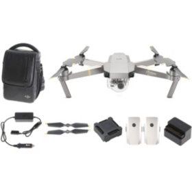 DJI Mavic Pro Platinum Quadcopter Fly More Combo