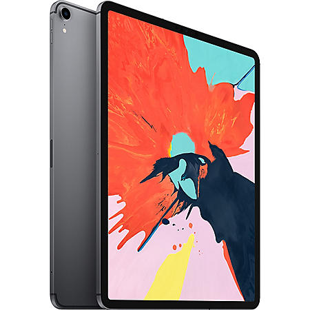 """Apple iPad Pro 12.9"""" 3rd Generation 256GB with Wi-Fi + Cellular (Space Gray)"""