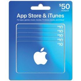 $50 App Store & iTunes Multipack