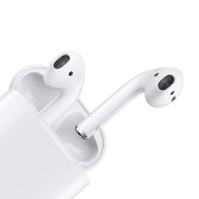 Apple Airpods With Wired Charging Case 2nd Generation Sam S Club