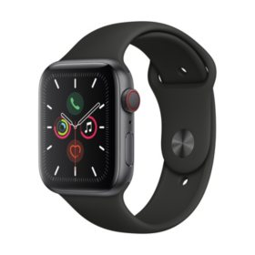 Apple Watch Series 5 GPS + Cell Space Gray with Black Band