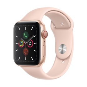 Apple Watch Series 5 GPS + Cell Gold with Pink Band