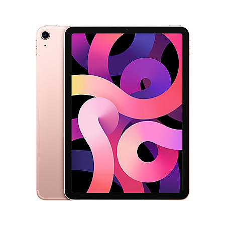 """Apple iPad Air 10.9"""" 64GB (2020 Model) with Wi-Fi + Cellular (Choose Color)"""