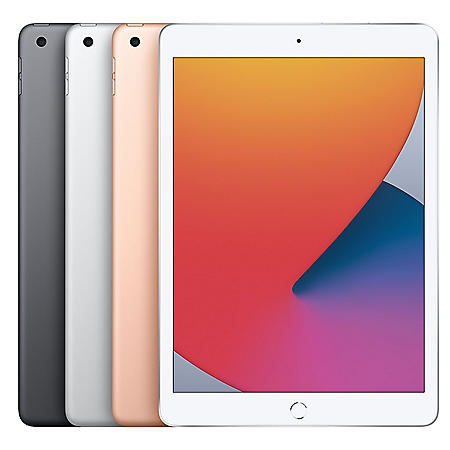 "Apple iPad 10.2"" 32GB (2020 Model) with Wi-Fi (Choose Color)"