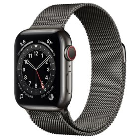Apple Watch Series 6 Stainless Steel Case with Milanese Loop 40mm GPS + Cellular (Choose Color)