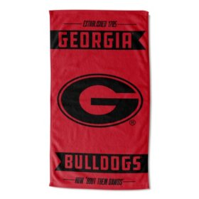 "The Northwest Company NCAA Georgia Bulldogs Team Sports Towel (40"" x 72"")"