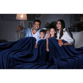 "Oversized Cozy Night Cloud Throw Blanket, 110"" x 132"" (Various Colors)"
