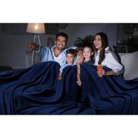 """Oversized Cozy Night Cloud Throw Blanket, 110"""" x 132"""" (Various Colors)"""