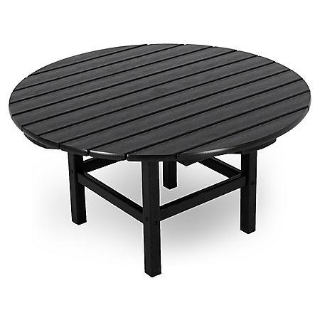 CONVERSATION TABLE BLACK