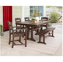 Classics 6-Piece Dining Set by Ivy Terrace™ in Brown
