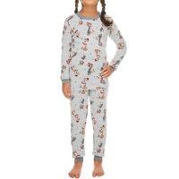 Kids' Festive Dog Holiday FamJams Pajamas
