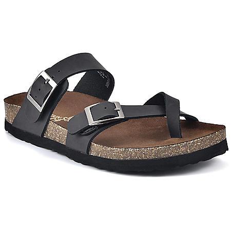 Mountain Sole Ladies Leather Sandal