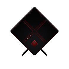 HP Omen X Gaming Desktop Cube Tower featuring Intel Core i7-6700K Processor, 8GB Memory, 2TB + 256GB SSD Hard Drive, 4GB AMD RX 480 GDDR5 Discrete Graphics, VR Ready, Liquid-Cooled CPU, Expandable