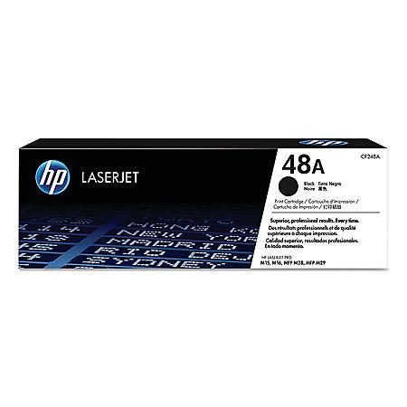 HP 48A, Black Original LaserJet Toner Cartridge