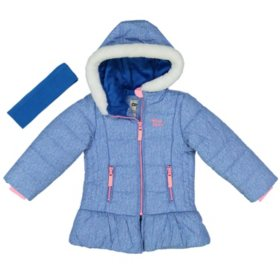 Osh Kosh Girls' Parka Jacket