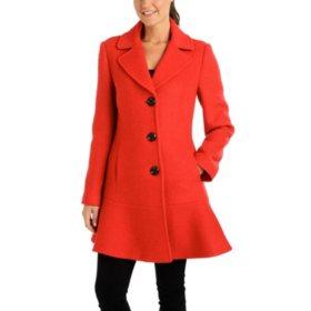 d6d90bf2391a9 Fleet Street Classic Wool Peplum Coat