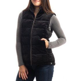 ZeroXposur Ladies Velour Vest