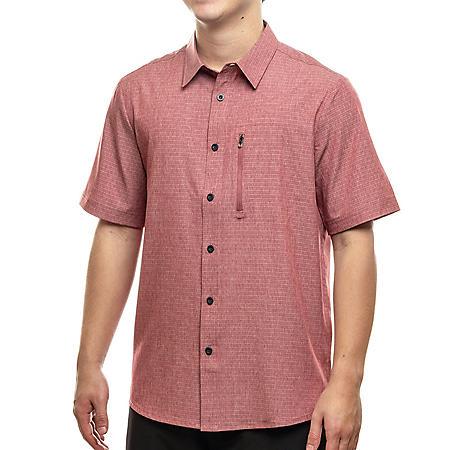 17fb69b4e5 ZeroXposur Travel Short Sleeve Shirt - Sam's Club