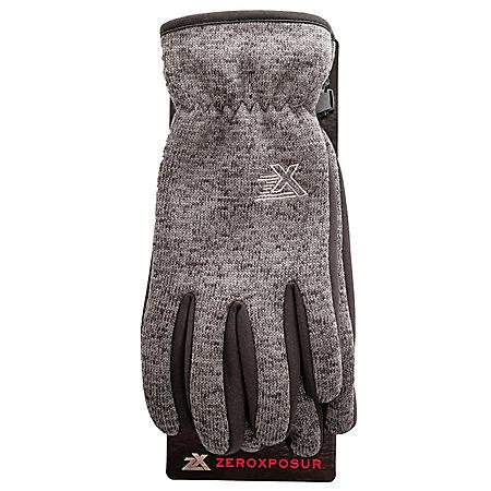 Zeroxposur Men's Sweater Knit Glove