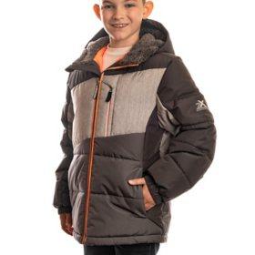 ZeroXposur Boy's Iron Grey Puffer Jacket