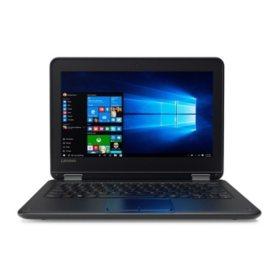 "Lenovo N23 ThinkPad Touchscreen 11.6"" HD IPS Notebook, Intel Celeron N3060 Processor, 4GB Memory, 128GB SSD Hard Drive, Intel HD Graphics 400, Windows 10 Pro"