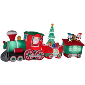 Airblown Inflatable Colossal Santa Claus Express