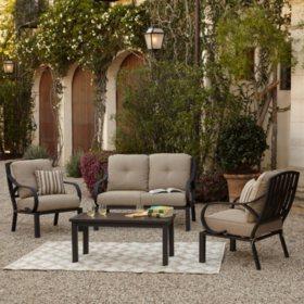 Royal Garden St. James 4-Piece Patio Conversation Set