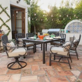 Royal Garden St. James 7-Piece Patio Dining Set