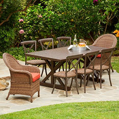 Royal Garden Boca 9-Piece Patio Dining Set
