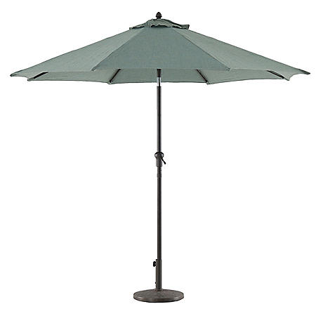 Royal Garden Outdoor 9' Crank/Tilt Market Umbrella (Various Colors)
