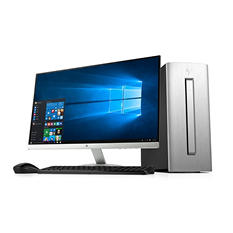 "HP ENVY Desktop Bundle with 27"" Monitor, Intel Core i7-7700U Processor, 16GB Memory, 2TB Hard Drive, Wireless Keyboard and Mouse, Windows 10 Home"