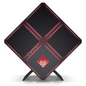 HP OMEN X Gaming Desktop 900-290, Intel Core i9-7920X Processor, 64GB DDR4-2400 SDRAM (4x16GB), 2TB 7200RPM SATA HDD, 512GB M.2 SATA SSD, Dual NVIDIA GeForce GTX 1080 Ti graphics card with 11 GB GDDR5X dedicated memory and SLI bridge support
