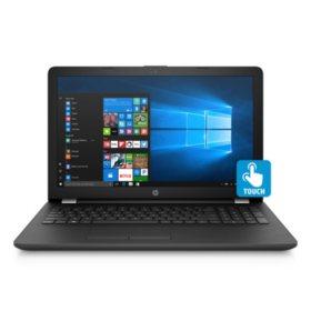 "HP Touchscreen 15.6"" HD Notebook, Intel Core i5-8250U Processor, 8GB Memory, 2TB Hard Drive, Optical Drive, HD Webcam, Backlit Keyboard, 2 Year Warranty Care Pack"