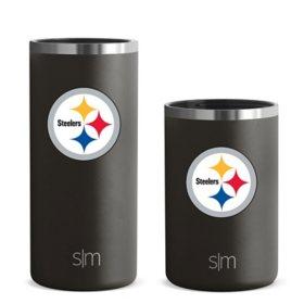 Simple Modern Licensed Ranger Can Cooler 2-Pack -Pittsburgh Steelers
