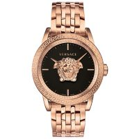 Versace Men's Palazzo Empire Rose Gold Stainless Steel Bracelet Watch, 43mm