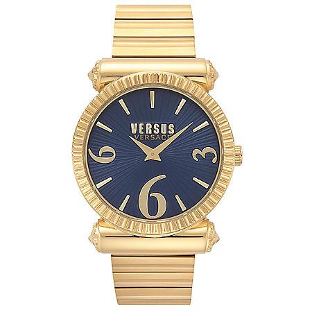 Versus Versace Women's Republique Gold-Tone Stainless Steel Bracelet Watch, 38mm