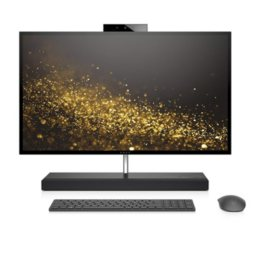 "HP ENVY 27"" Widescreen UHD Touch All-in-One Desktop 27-b210, Intel Core i7-8700T Processor, 16GB(DDR4, 2 DIMM) RAM, 256GB SSD + 1TB 7200 RPM HDD, NVidia GTX1050 with 4GB, Windows 10 (Advanced), HP Premium Lifestyle wireless keyboard and optical mouse"