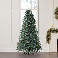 Evergreen Classics Pre-Lit 7.5' Holiday Symphony Heavenly Fir Tree