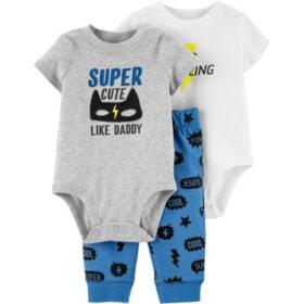96b01f93 Carter's 3-piece Superhero Bodysuit Pant Set. View more options